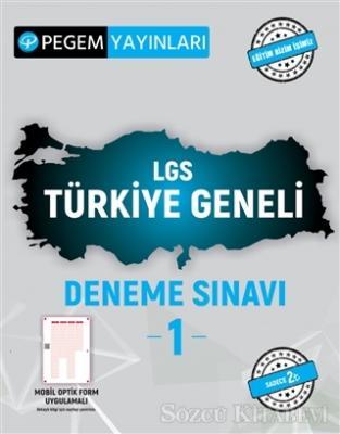 Kolektif - 2021 LGS Türkiye Geneli Deneme Sınavı 1 | Sözcü Kitabevi