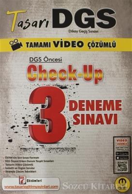 2021 Tasarı DGS Öncesi Check Up Video Çözümlü 3 Deneme