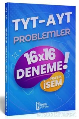 2021 TYT AYT Pratik İsem Kazandıran Problemler 16x16 Deneme