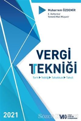 Muharrem Özdemir - 2021 Vergi Tekniği | Sözcü Kitabevi