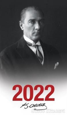 - 2022 Atatürk Ajandası Başöğretmen - Çerçeveli   Sözcü Kitabevi