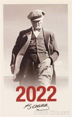 - 2022 Atatürk Ajandası Cumhuriyet - Çerçeveli | Sözcü Kitabevi