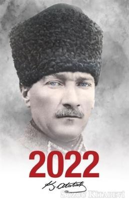 - 2022 Atatürk Ajandası Komutan - Beyaz | Sözcü Kitabevi