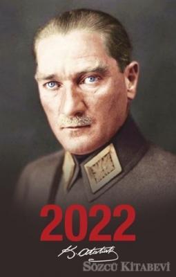 2022 Atatürk Ajandası Önder - Siyah