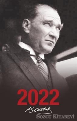 - 2022 Atatürk Ajandası Portre - Siyah | Sözcü Kitabevi