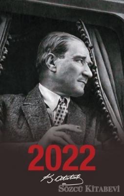 - 2022 Atatürk Ajandası Ulu Önder - Siyah | Sözcü Kitabevi