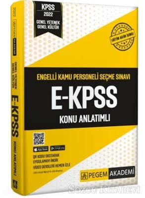 Kolektif - 2022 E-KPSS Konu Anlatımlı | Sözcü Kitabevi