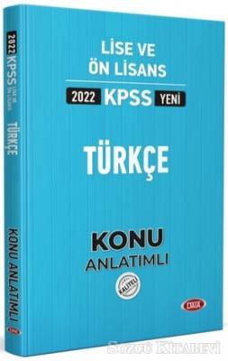 2022 KPSS Lise ve Ön Lisans Türkçe Konu Anlatımlı