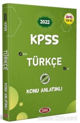 Kolektif - 2022 KPSS Türkçe Konu Anlatımlı | Sözcü Kitabevi