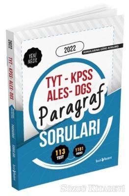 2022 TYT-KPSS-ALES-DGS Paragraf Soru Bankası