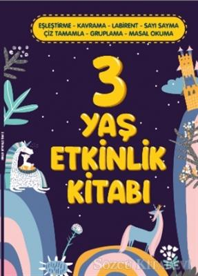 3 Yaş Etkinlik Kitabı
