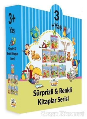 Kolektif - 3+ Yaş Sürprizli ve Renkli Kitaplar Serisi (7 Kitap Set) | Sözcü Kitabevi
