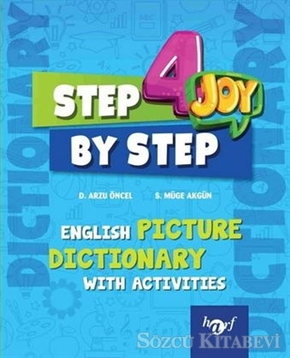 4.Sınıf Step By Step Joy English Picture Dictionary 2019