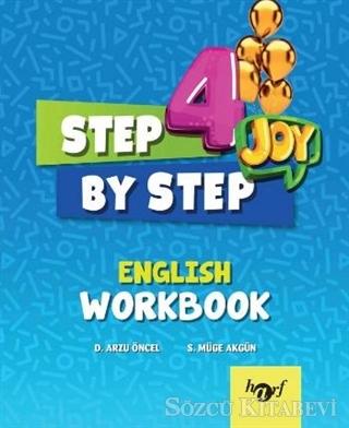 Kolektif - 4.Sınıf Step By Step Joy English Wb 2019 | Sözcü Kitabevi