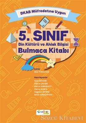 5. Sınıf Din Kültürü ve Ahlak Bilgisi Bulmaca Kitabı