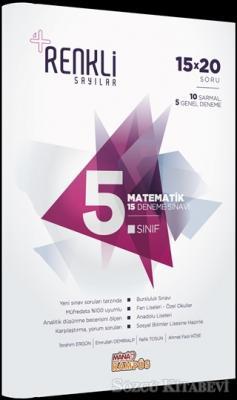 5. Sınıf Matematik 15 Deneme Sınavı - Renkli Sayılar