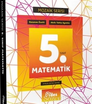 5. Sınıf Matematik Konu Özetli Soru Bankası - Mozaik Serisi
