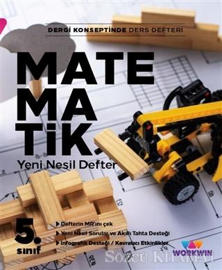 Kolektif - 5. Sınıf Matematik Yeni Nesil Defter | Sözcü Kitabevi