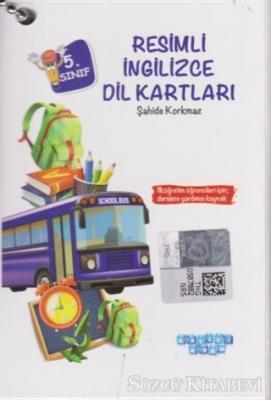 Şahide Korkmaz - 5. Sınıf Resimli İngilizce Dil Kartları | Sözcü Kitabevi
