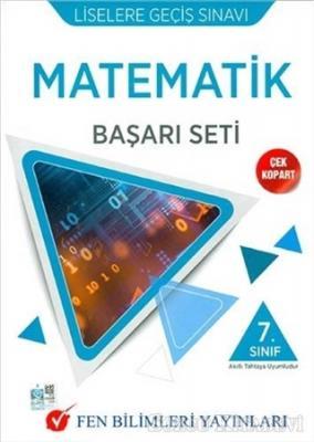 Kolektif - 7. Sınıf Matematik LGS Başarı Seti | Sözcü Kitabevi