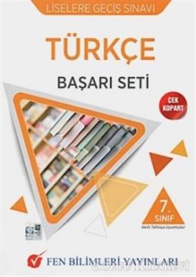 Kolektif - 7. Sınıf Türkçe LGS Başarı Seti | Sözcü Kitabevi