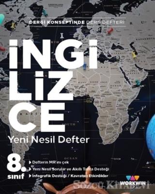Kolektif - 8. Sınıf İngilizce Yeni Nesil Defter | Sözcü Kitabevi