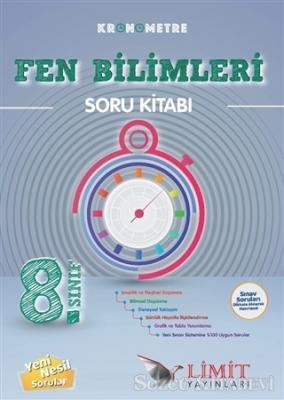 8. Sınıf Kronometre Fen Bilimleri Soru Kitabı