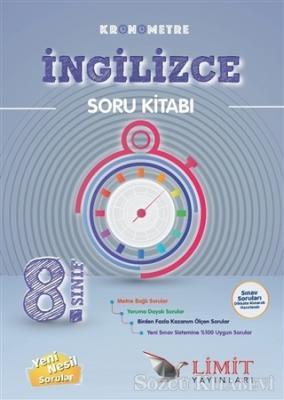 8. Sınıf Kronometre İngilizce Soru Kitabı
