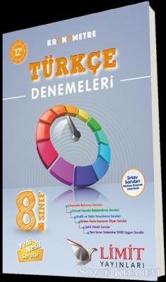 8. Sınıf Kronometre Türkçe Denemeleri 12'li