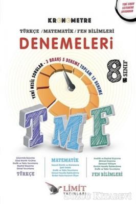 8. Sınıf Kronometre Türkçe Matematik Fen Bilimleri Denemeleri