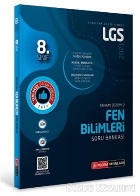 8.Sınıf LGS Fen Bilimleri Tamamı Çözümlü Soru Bankası 2021