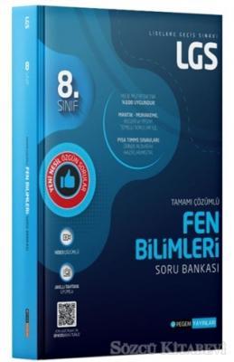 Kolektif - 8. Sınıf LGS Tamamı Çözümlü Fen Bilimleri Soru Bankası | Sözcü Kitabevi