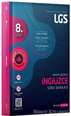 Kolektif - 8. Sınıf LGS Tamamı Çözümlü İngilizce Soru Bankası | Sözcü Kitabevi