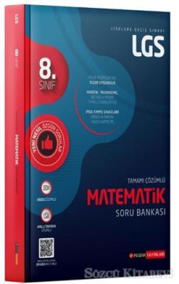 Kolektif - 8. Sınıf LGS Tamamı Çözümlü Matematik Soru Bankası | Sözcü Kitabevi