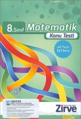 8. Sınıf Matematik Konu Testi