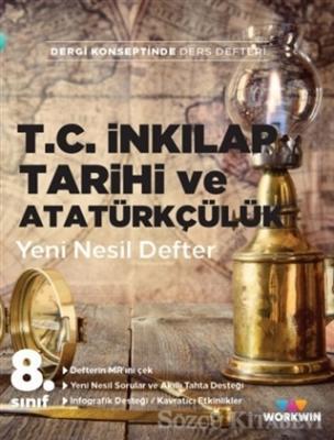 Kolektif - 8. Sınıf T.C. İnkılap Tarihi ve Atatürkçülük Yeni Nesil Defter | Sözcü Kitabevi