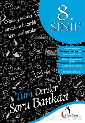 Kolektif - 8. Sınıf Tüm Dersler Soru Bankası | Sözcü Kitabevi