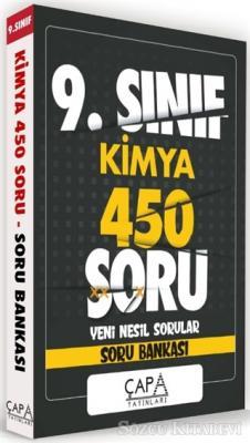 9.Sınıf Kimya 450 Soru Yeni Nesil Sorular - Soru Bankası
