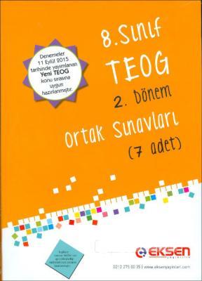 Eksen 8. Sınıf TEOG 2. Dönem Ortak Sınavları 7 Adet
