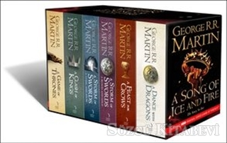 A Song Of Ice and Fire Box Set (6 Kitap Takım)