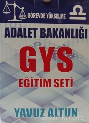 Yavuz Altun - Adalet Bakanlığı GYS Eğitim Seti+Resmi Yazışma Kuralları Eki ile | Sözcü Kitabevi
