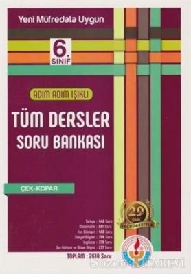 Kolektif - Adım Adım Işıklı 6. Sınıf Tüm Dersler Soru Bankası   Sözcü Kitabevi