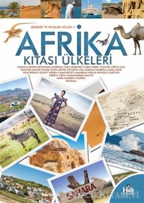 Kolektif - Afrika Kıtası Ülkeleri - Ülkeler ve Kıtalar Atlası 1 | Sözcü Kitabevi