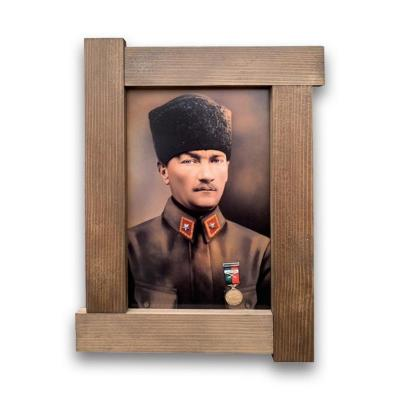 Ahşap Atatürk Tablo