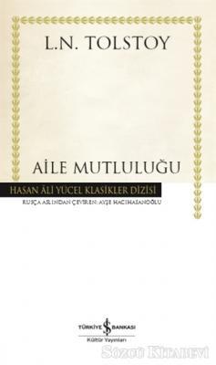 Lev Nikolayeviç Tolstoy - Aile Mutluluğu (Ciltli) | Sözcü Kitabevi