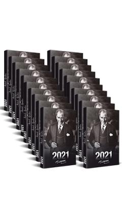 20 Adet - 2021 Atatürk Ajandası (Önder)