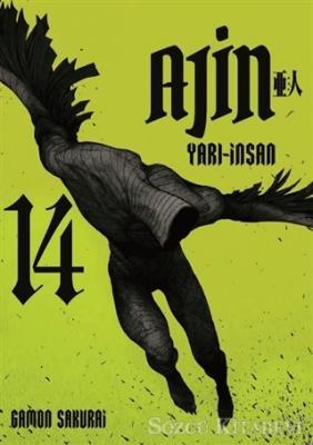 Gamon Sakurai - Ajin Yarı İnsan - 14. Cilt | Sözcü Kitabevi