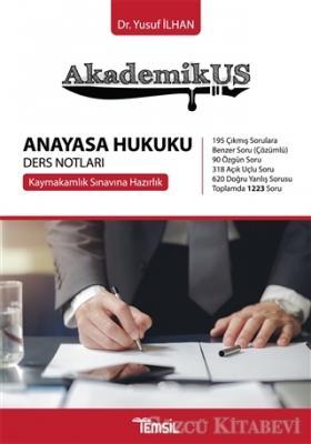Akademikus Anayasa Hukuku Ders Notları