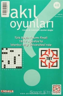 Kolektif - Akıl Oyunları Mantık ve Matematik Oyunları Dergisi Sayı: 48   Sözcü Kitabevi
