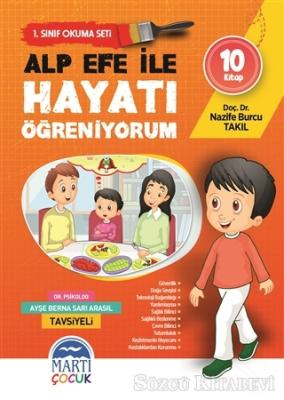 Alp Efe ile Hayatı Öğreniyorum - 1. Sınıf Okuma Seti (10 Kitap Takım)